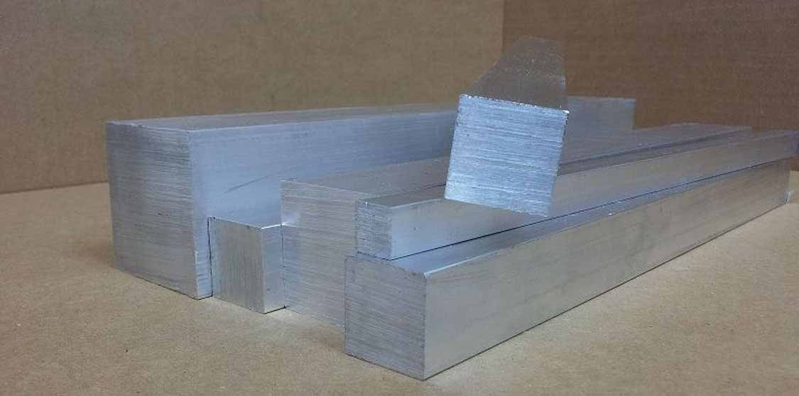 Aluminium Alloy 6063 Square Bar